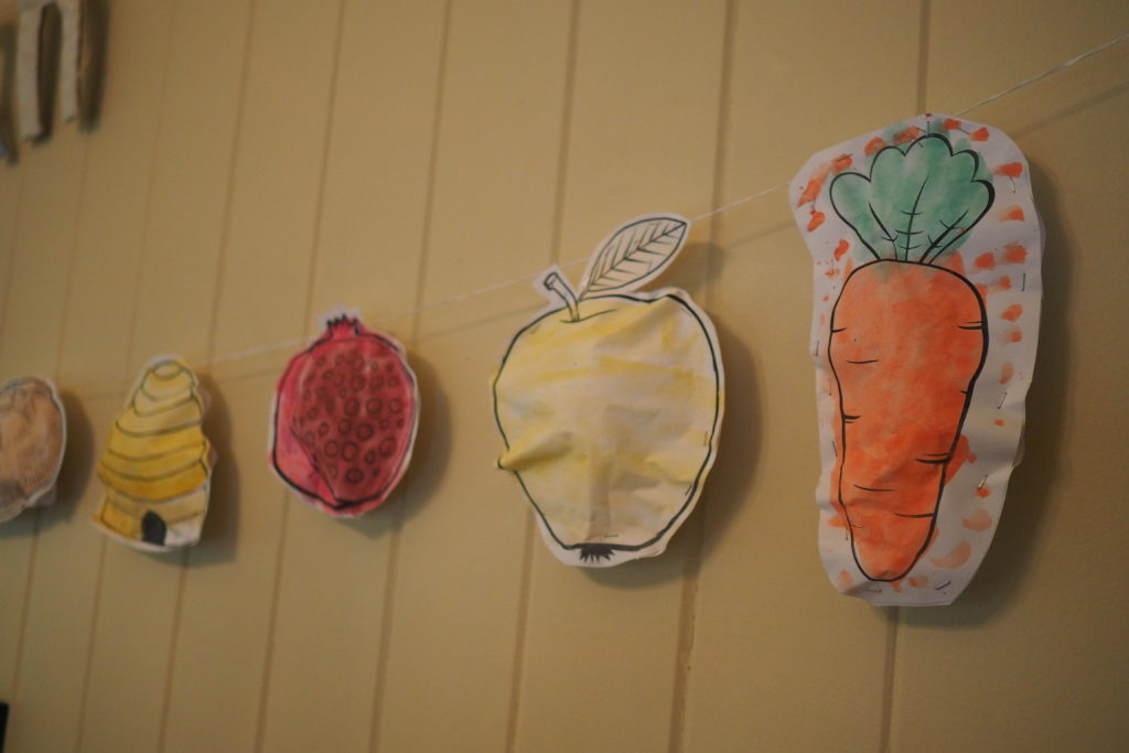 stuffed papers for Rosh Hashanah