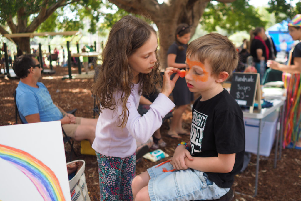 Homeschool Brisbane Spring Fair: Facepainting