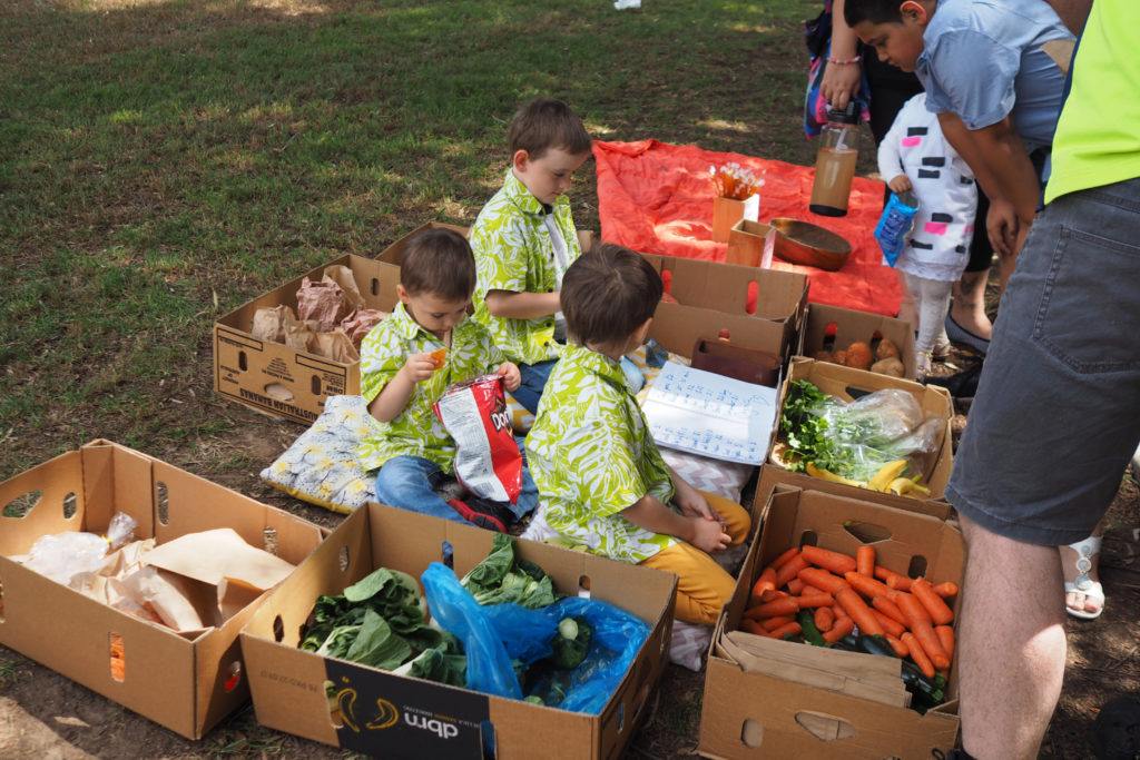 Homeschool Brisbane Spring Fair: Fresh produce