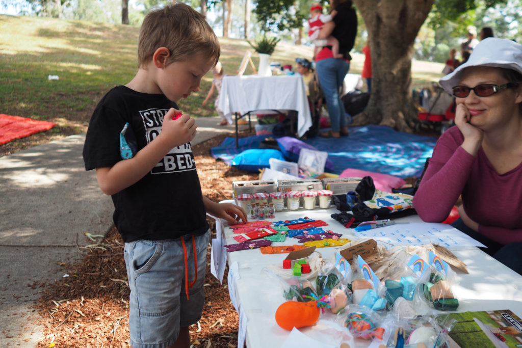 Homeschool Brisbane Spring Fair: Fairy Doors