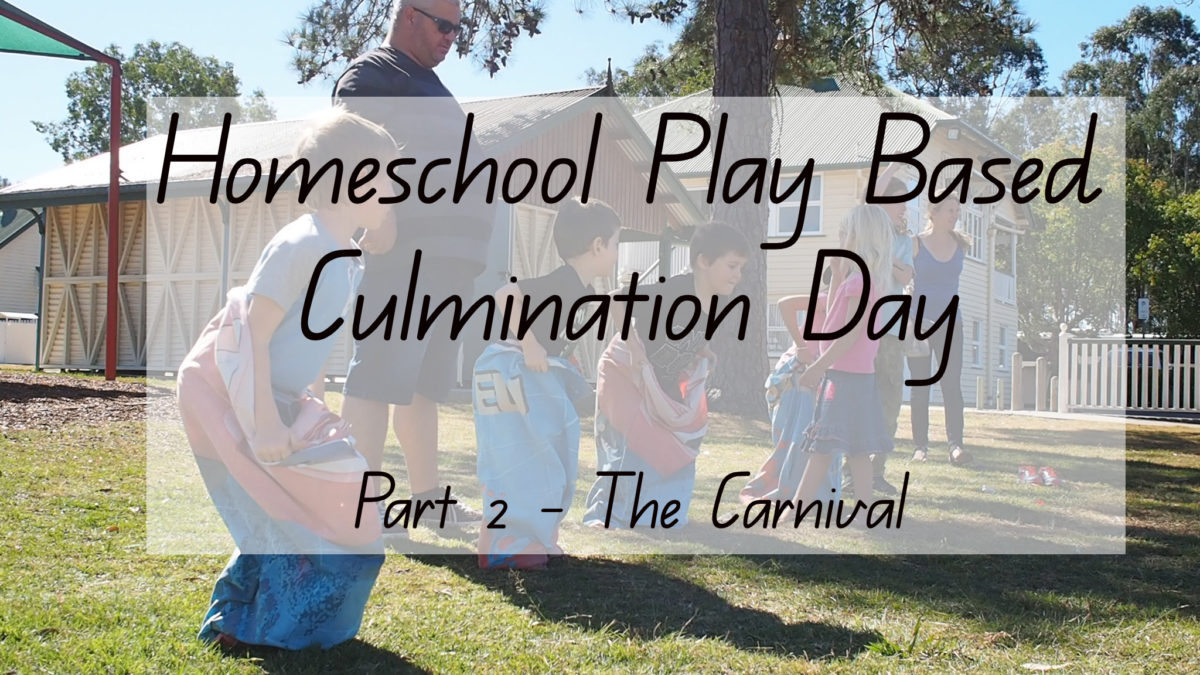 homeschool play based learning group culmination day video - Brisbane, Australia